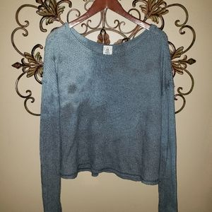 We the Free (Free People) Tie Dyed Slouchy Sweater